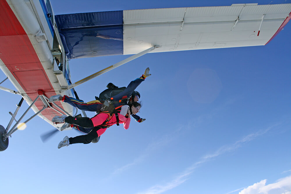Skydiving in Veneto