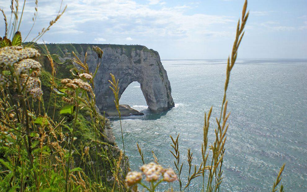 Normandia Étretat
