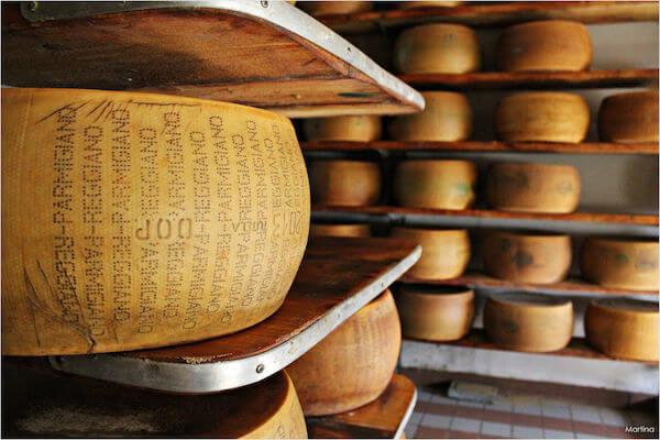 Parmigiano Reggiano DOP Santa Rita BIO