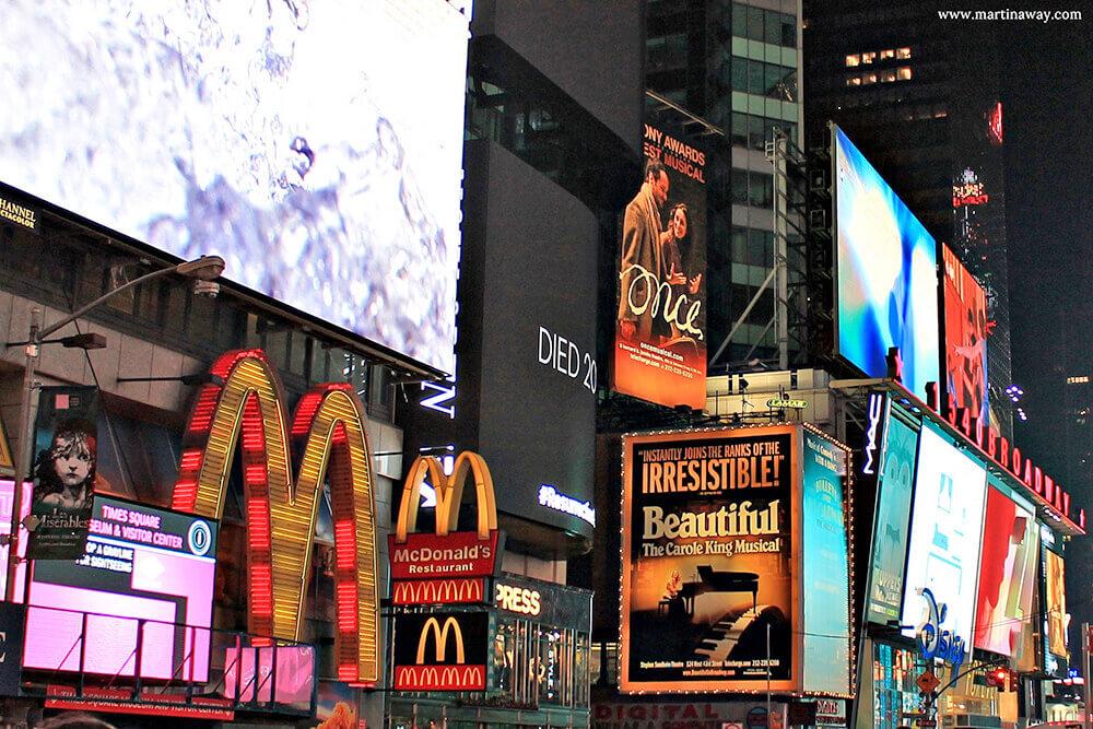 Times Square cosa vedere