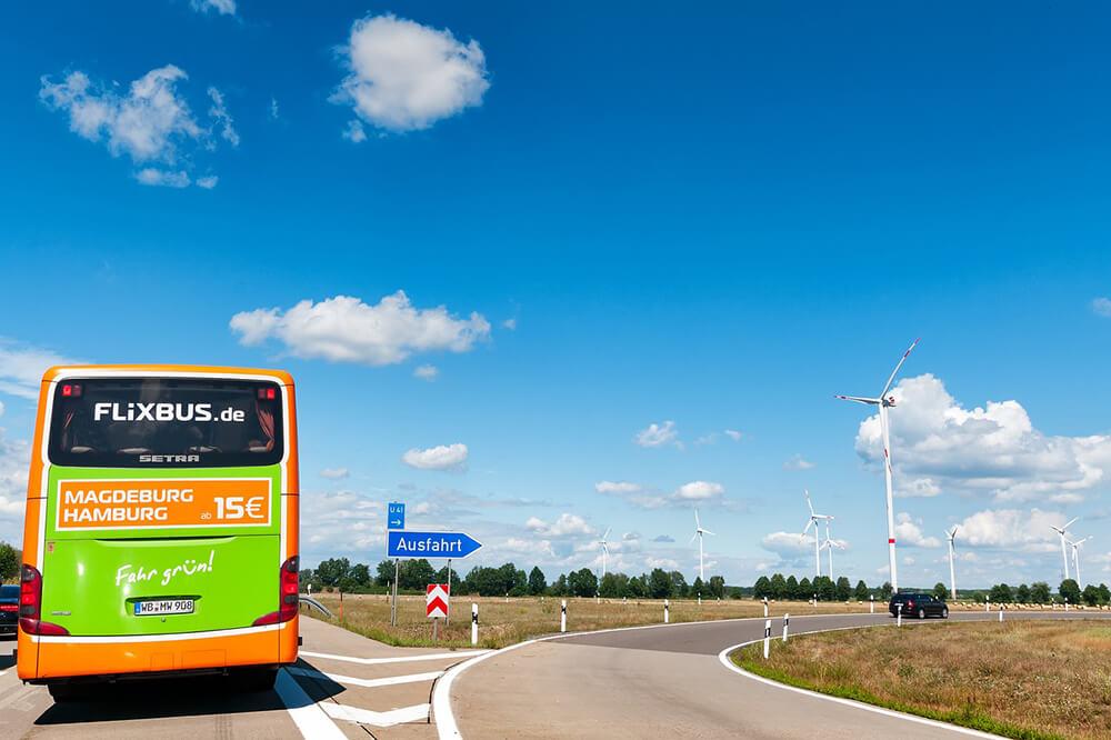 Flixbus in Germania