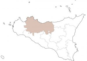 Cartina Sicilia Province.Mappa Italia Sicilia Palermo Martinaway
