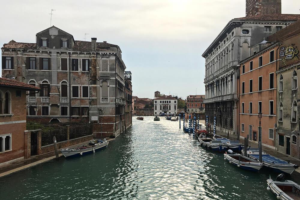 Venezia con l'acqua alta
