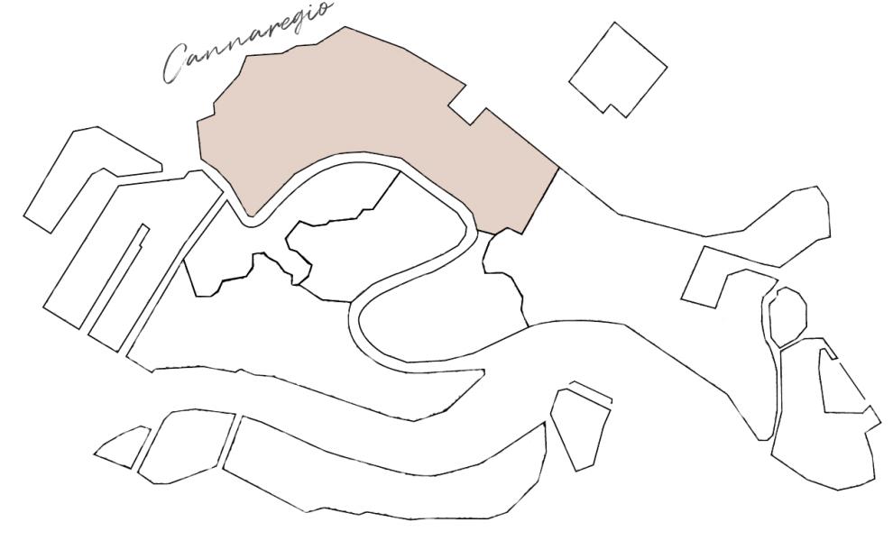 cartina sestiere Cannaregio