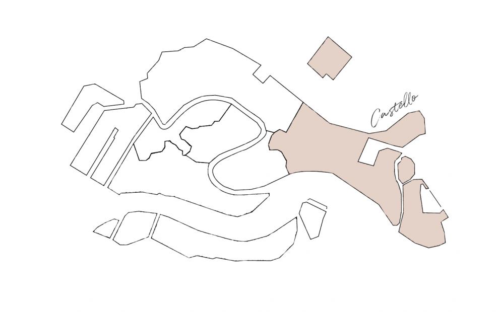 cartina sestiere Castello
