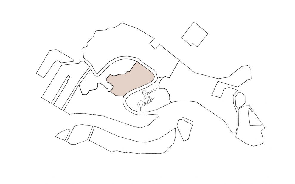 cartina sestiere San Polo