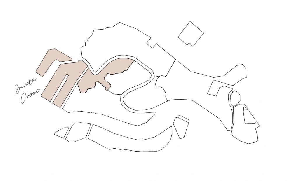 cartina sestiere Santa Croce