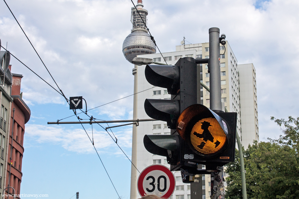 muoversi a Berlino