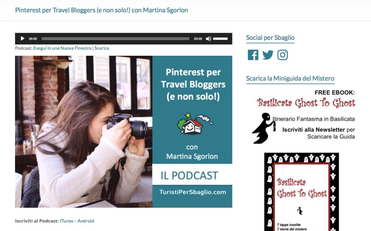 Intervista su Pinterest
