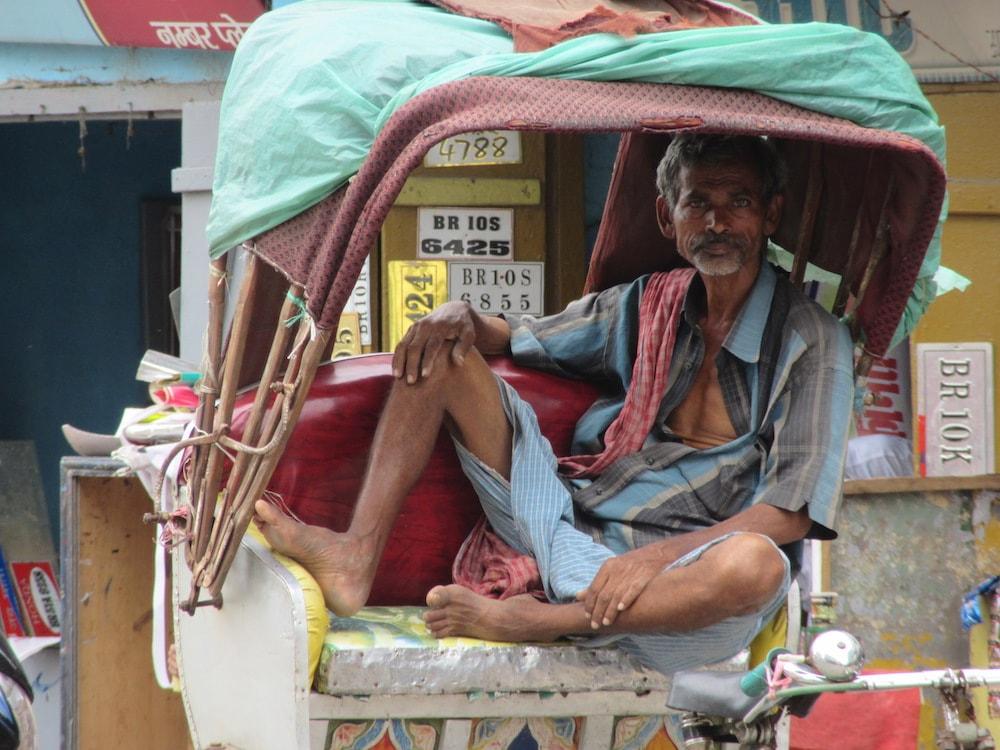 Guidatore di risciò - Bhagalpur.