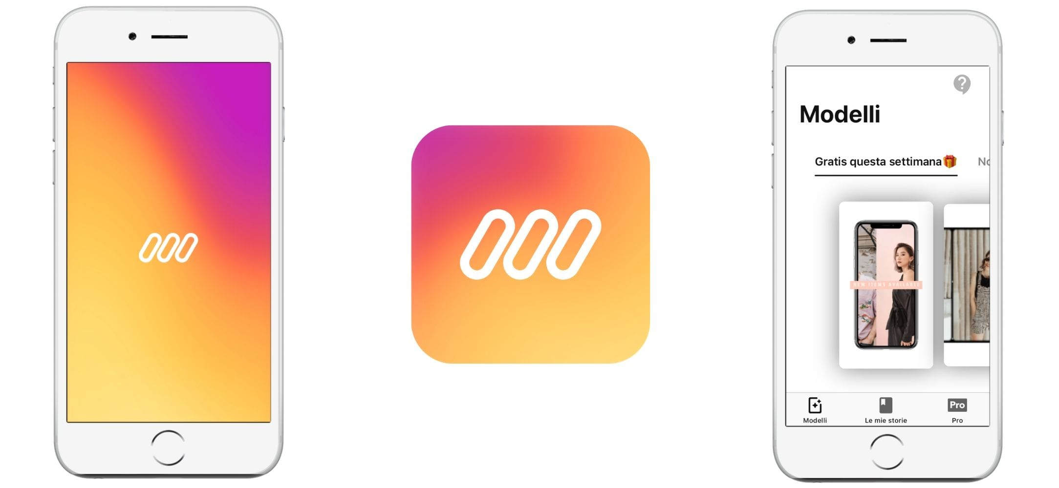 App per Instagram stories Mojo