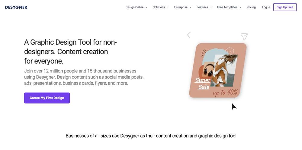 Progettazione grafica - Desygner
