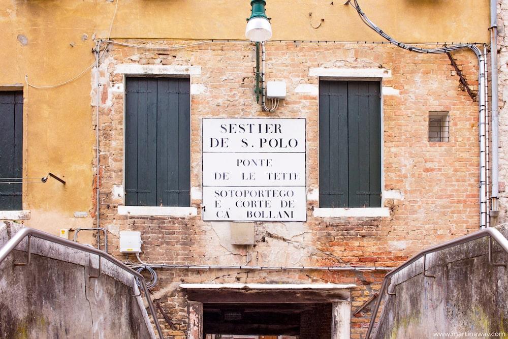 Toponomastica Veneziana